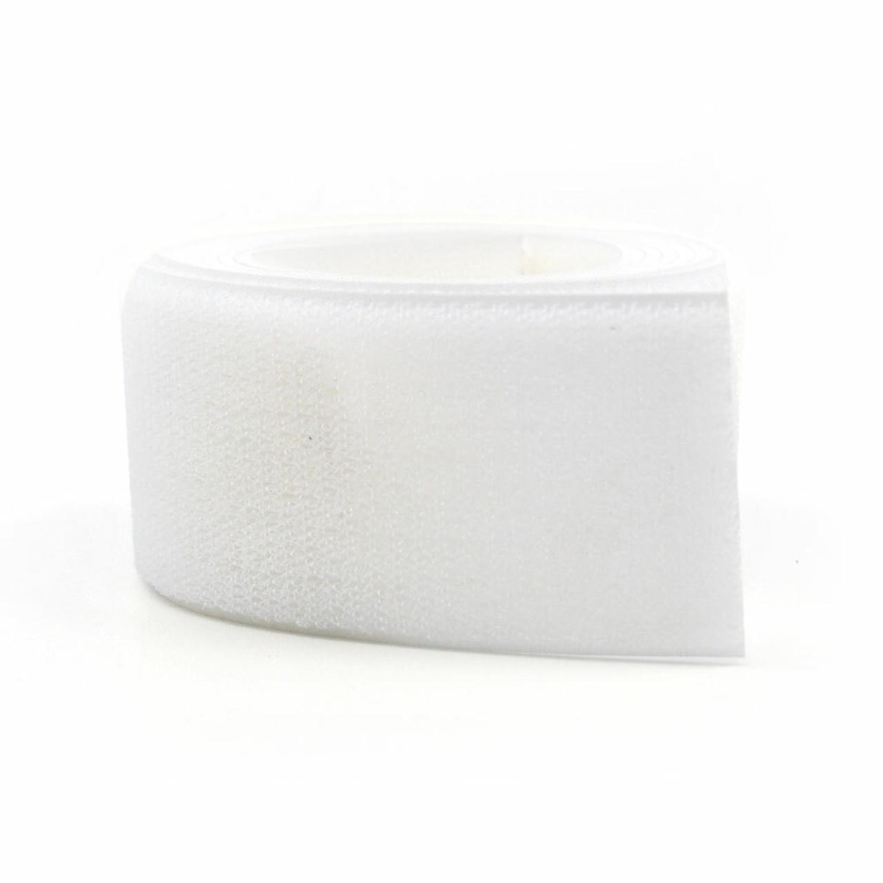 VELCRO Brand Polyester Sew-On Tape- Mil Spec White Loop / Velcro Fasteners