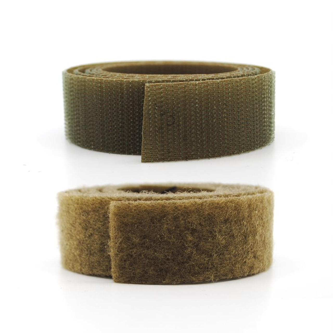 VELCRO® Brand Nylon Sew-On Tape - Mil Spec - Tan 499 Hook and Loop / Velcro Fasteners