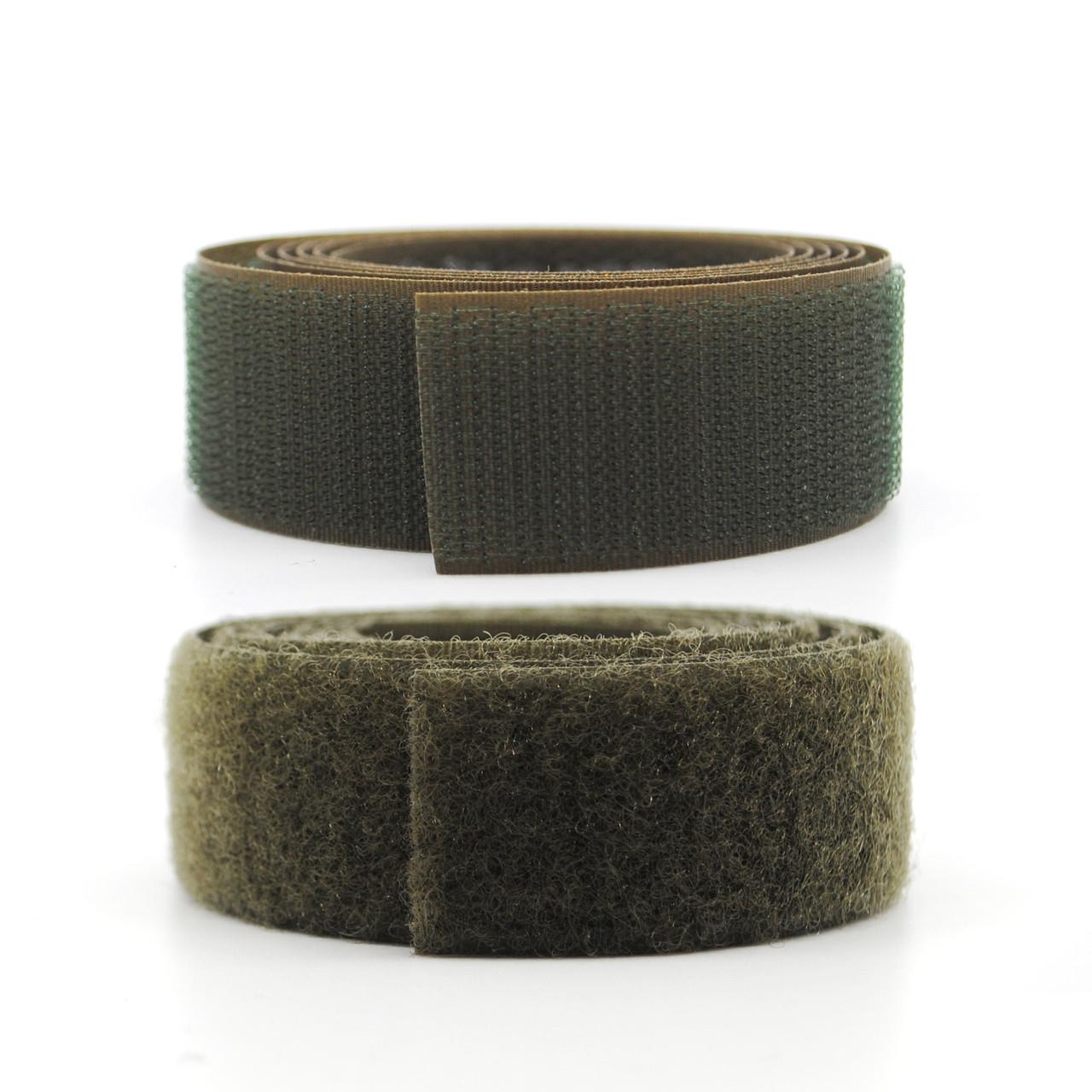 VELCRO® Brand Nylon Sew-On Tape - Mil Spec - Ranger Green 617 Hook and Loop / Velcro Fasteners