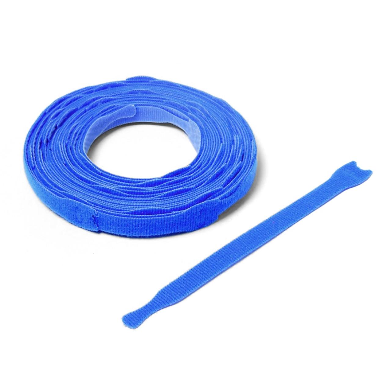 VELCRO ® Brand ONE-WRAP ® Die-Cut Straps - Blue / Velcro Straps - Bundling Straps - Velcro Tie - Velcro Strap