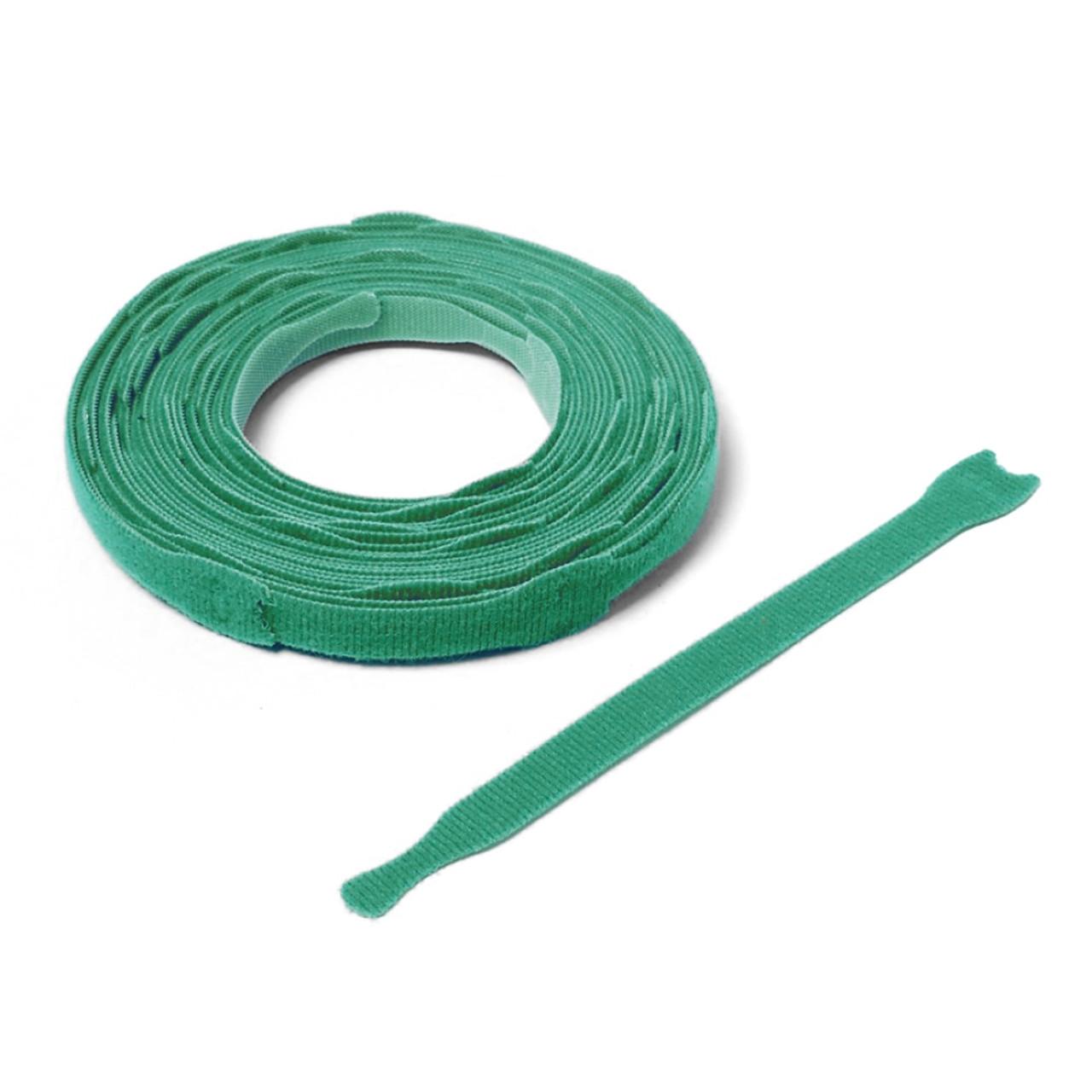 VELCRO ® Brand ONE-WRAP ® Die-Cut Straps - Green / Velcro Straps - Bundling Straps - Velcro Tie - Velcro Strap