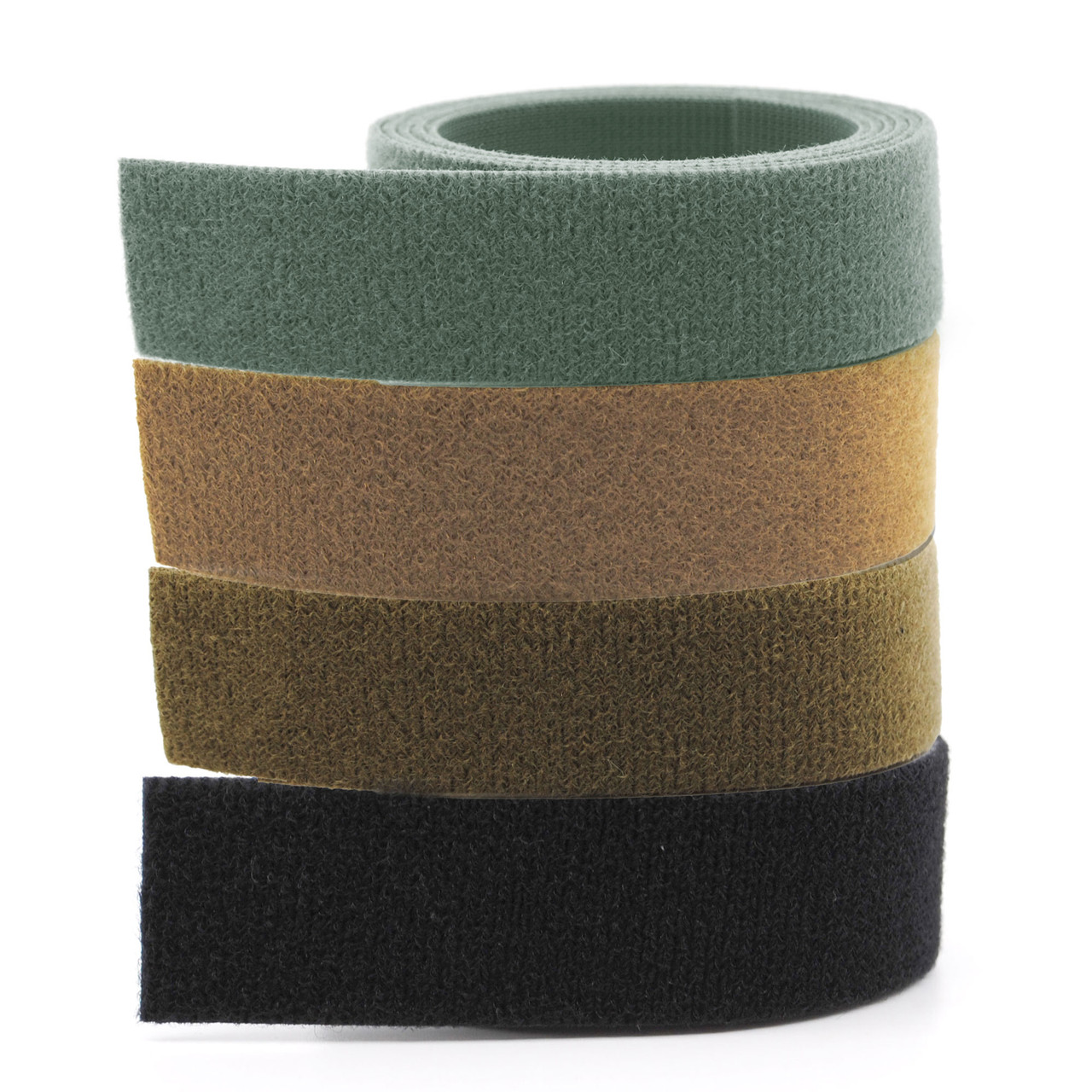 "VELCRO® ONE-WRAP® MIL SPEC Tape - 1"" Tan, Coyote Brown, Foliage Green, Black / Velcro Straps - Bundling Straps - Velcro Tie - Velcro Strap"