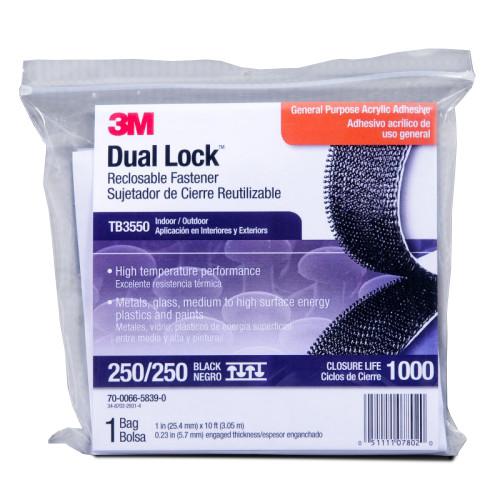 3M™ Dual Lock™ 10 Foot Bag