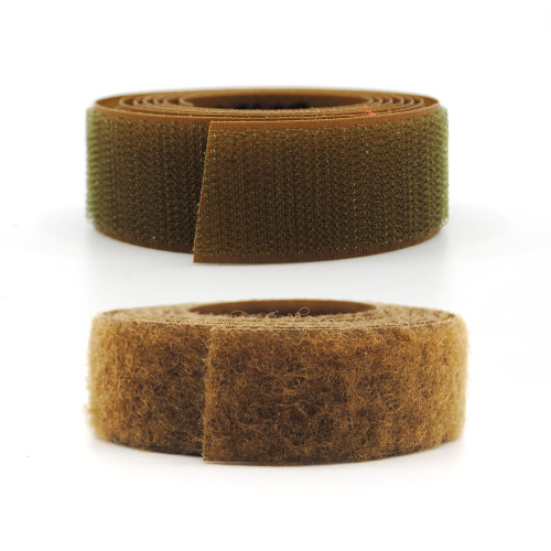 VELCRO® Brand Nylon Sew-On Tape - Mil Spec - Coyote 498 Hook and Loop / Velcro Fasteners