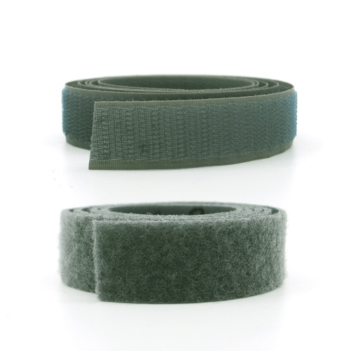 VELCRO® Brand Nylon Sew-On Tape - Mil Spec - Foliage Green Hook and Loop / Velcro Fasteners