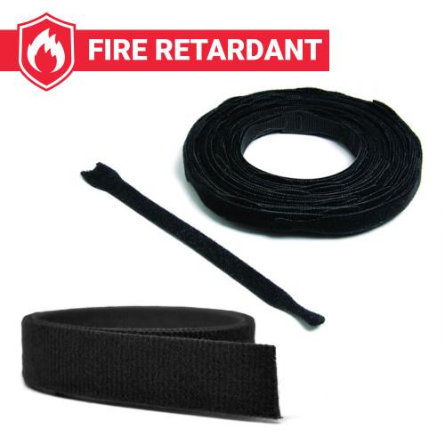 Fire Retardant VELCRO ONE WRAP Black
