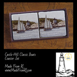 Castle Hill and Classic Boats Coasters From Made From RI