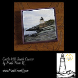Castle Hill Light Coasters at Made From RI