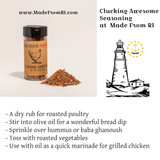 Clucking Awesome Seasoning - A Zesty And Robust Flavoring at Made From RI
