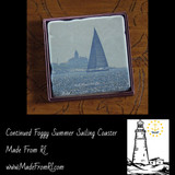 Continued Foggy Summer Sailing Made From RI Coasters