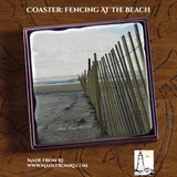 Fencing At The Beach Coaster - A Way To Always Be At The Beach