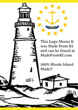 Look For Our Made From RI Logo