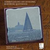 Summer Sailing Off Beavertail Lighthouse