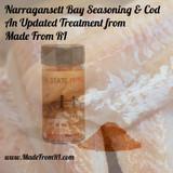 Updated Cod & Narragansett Bay Seasoning Recipe From Made From RI