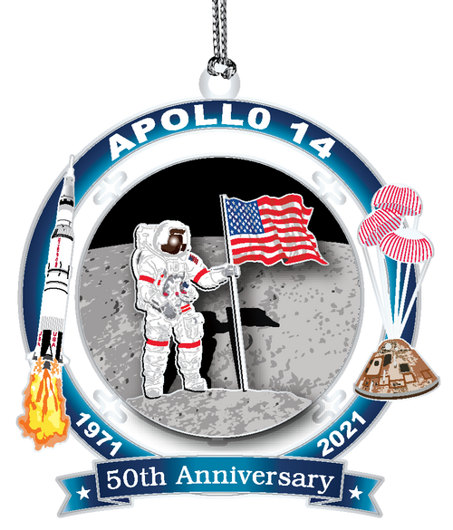 Apollo 50th Anniversary Keepsake Ornament