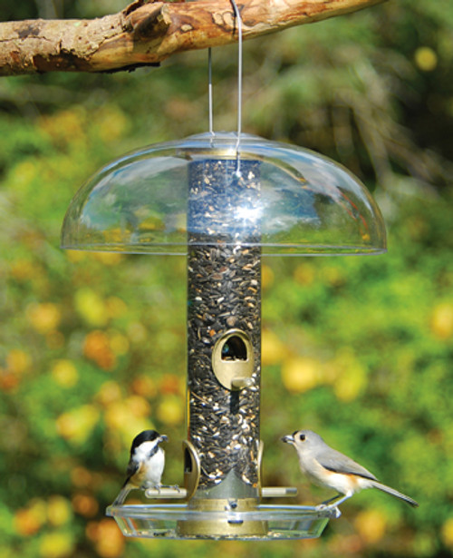 Bird Feeder Accessory - Tube Top Protector