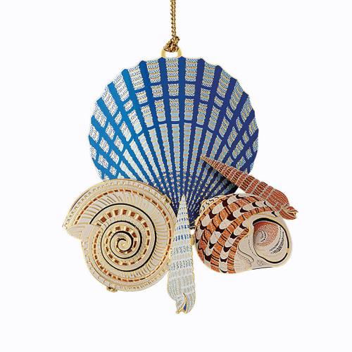 Sea Shells on the Shore Ornament