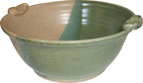Bowl- Medium size with Shell Handles