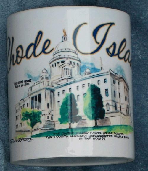 Rhode Island Icons Series Mug-State House