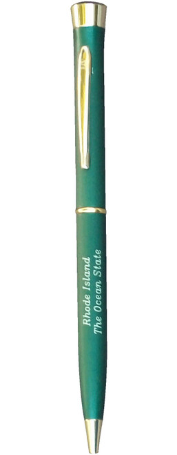 Garland Pen - Colour Collection Ð Sold in Dark Green - Matte Finish