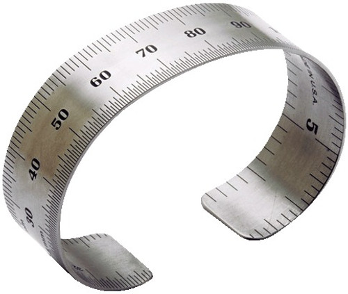 Original Ruler Bracelet - Metric measurements
