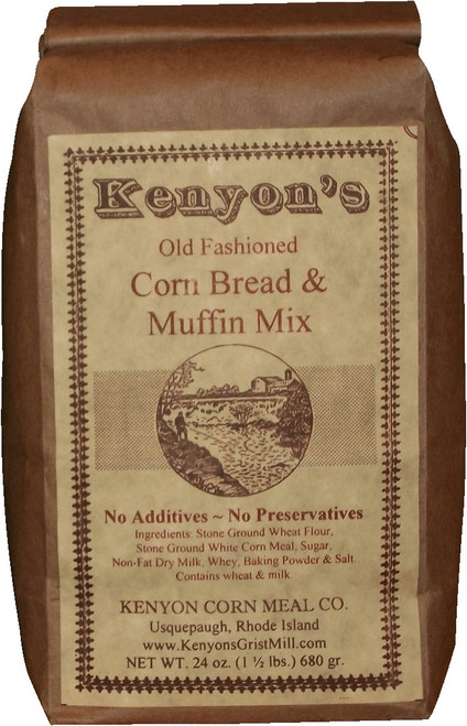 Corn Bread & Muffin Mix 24 oz Bag
