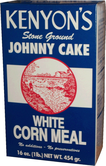 Johnny Cake Corn Meal 1# (1 Pound) Box