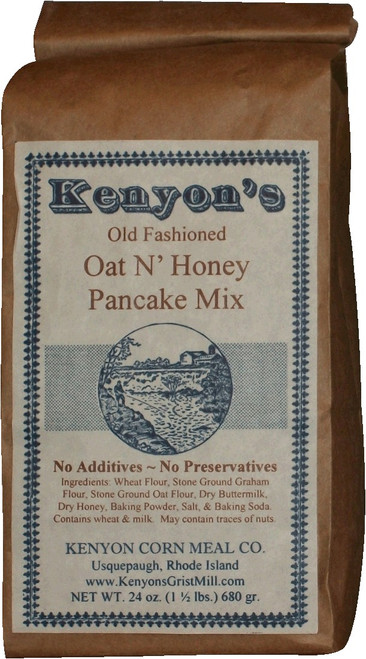 Oat & Honey Pancake Mix 24 oz Bag