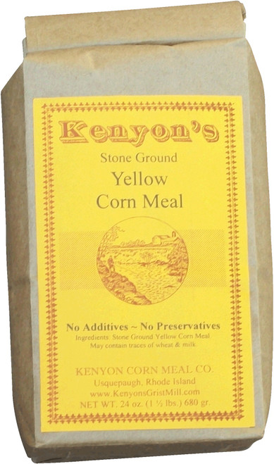 Yellow Corn Meal 24 oz Bag