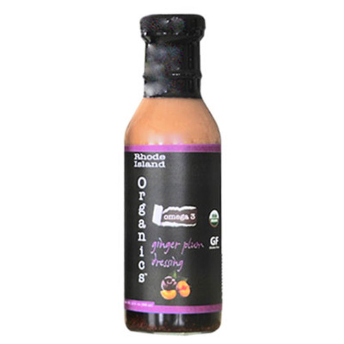 Omega-3 Organic Dressing - Ginger Plum Dressing and Marinade -12 oz.