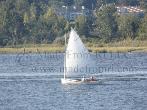 Cat Boat Entering East Greenwich Cove