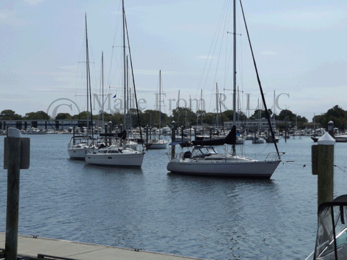 Curve Of Sailboats Wickford