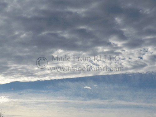 Early Morning Clouds Narragansett