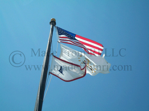 Flags At Beavertail