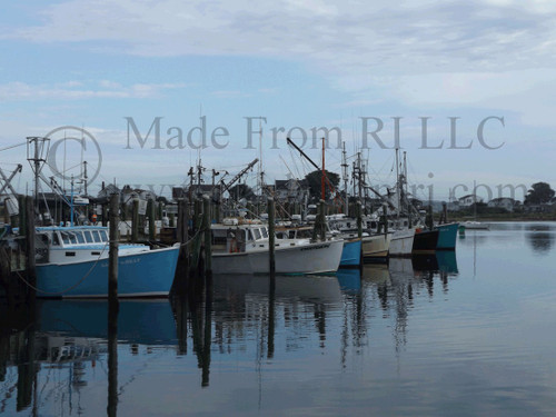 Galilee FIshing Boats At Dock