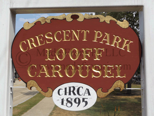 Looff Carousel Sign