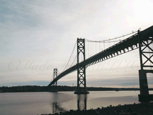 Mount Hope Bridge Bristol Cold Day