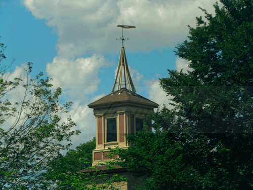 Peace Dale Mill Cupola