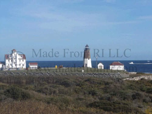Pt Judith Lighthouse Coast Guard Station