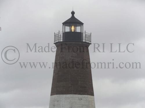 Pt Judith Lighthouse Doing Job