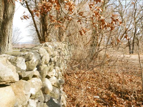 Winter Stone Wall