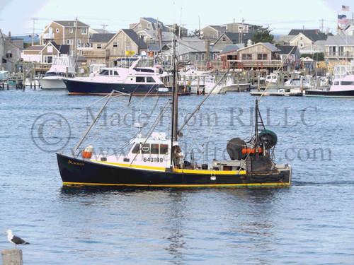 Work Boat Among Pleasure