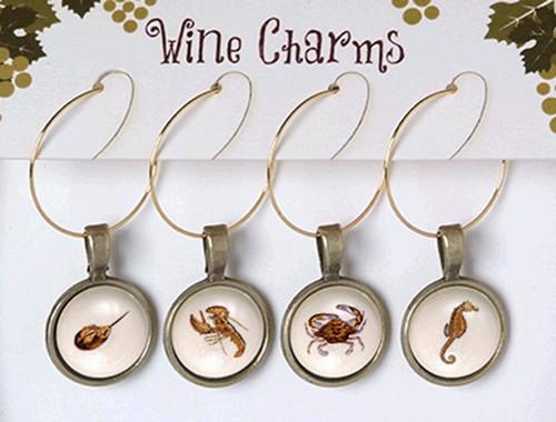 Wine Charms - Sea Life 1