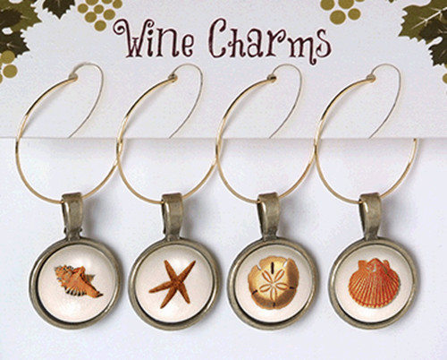 Wine Charms - Sea Life 2