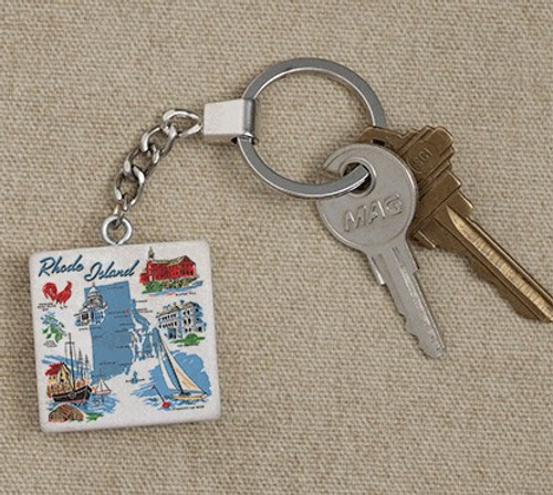 Tile Key Tags - Rhode Island Images