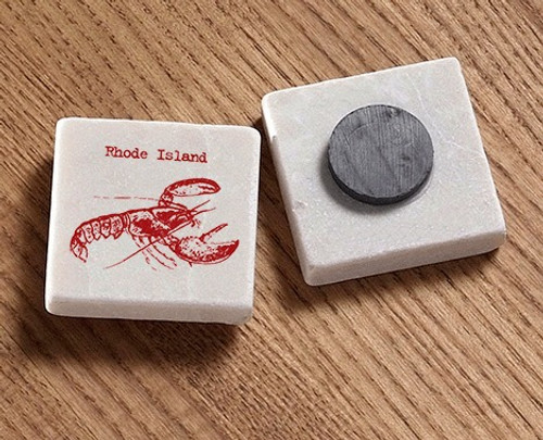 Tile Magnet - Red Lobster