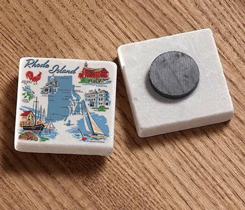 Tile Magnet - Rhode Island Images