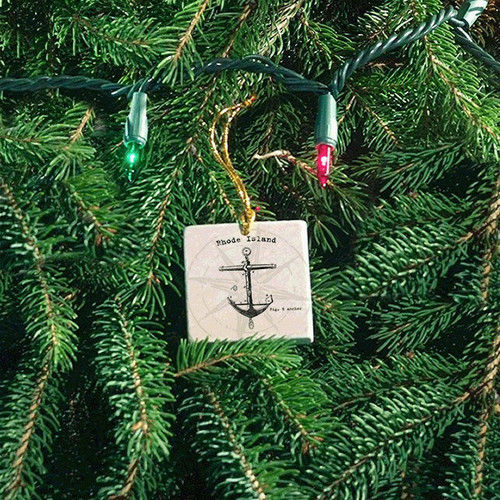 Tile Ornament - Anchor