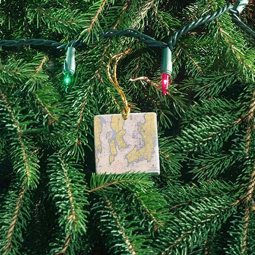 Newport - Jamestown Tile Ornament - Chart