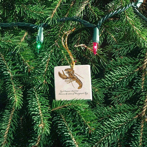 Tile Ornament - Native Lobster